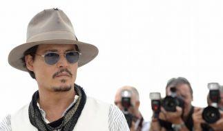 Johnny Depp beliebtester Schauspieler der USA (Foto)