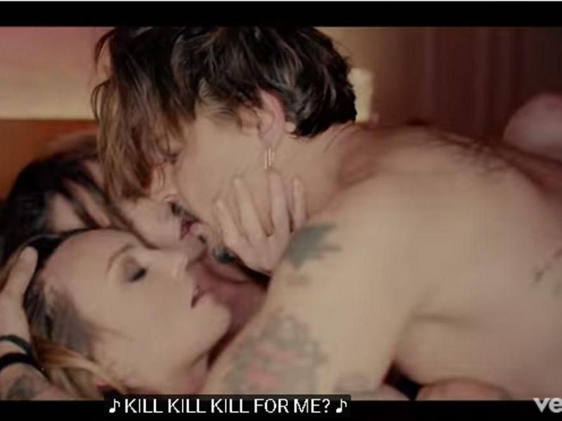 dreier sex video