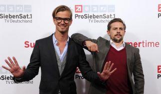 Joko Winterscheidt (l) und Klaas Heufer-Umlauf haben gute Chancen, die Kategorie Beste Unterhaltungsshow zu gewinnen. (Foto)