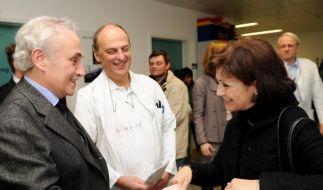 José Carreras besucht Leukämiepatienten (Foto)