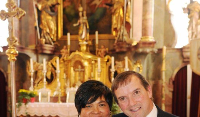 Josef und Narumol (Foto)