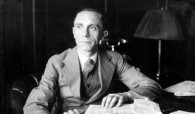 Joseph Goebbels in den 1930er Jahren. (Foto)
