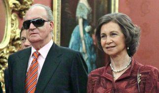 Juan Carlos soll Sofia seit Jahrzehnten untreu sein (Foto)