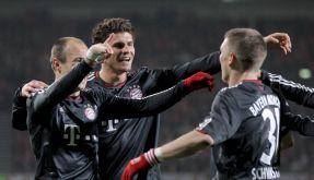 Jubel bei Bayern München (Foto)