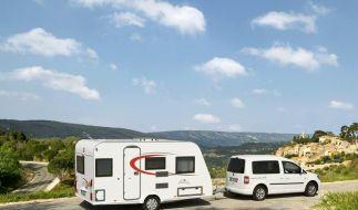 Jubiläumsmobil und leichterer Caravan von Bürstner (Foto)