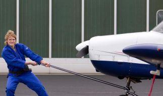 Judo-Meisterin will als Pilotin hoch hinaus (Foto)