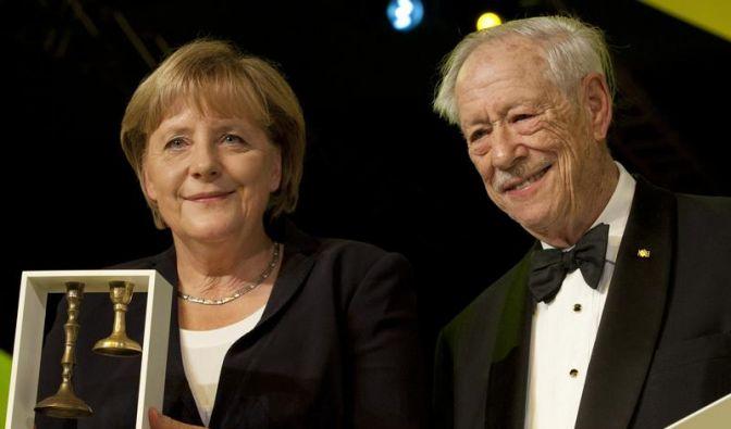 Jüdisches Museum Berlin ehrt Kanzlerin Merkel (Foto)
