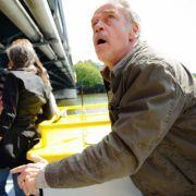 Action wie bei Jason Bourne - ob das Fernsehjahr noch eine aufregendere Sequenz bieten wird als die von Jürgen Heinrichs Flucht von einer Brücke auf einen Ausflugsdampfer und zurück?