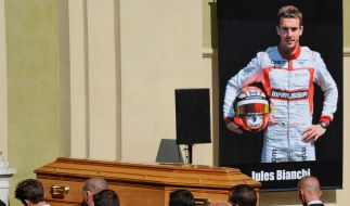 Jules Bianchi wurde in seiner Heimatstadt Nizza beigesetzt. (Foto)