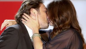 Julia Roberts küsst Javier Bardem (Foto)