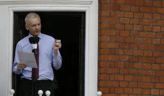 Julian Assange sprach erstmals seit seiner Flucht in die ecuadorianische Botschaft öffentlich. (Foto)