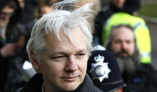 Julian Assange hat Asyl in Ecuador zugesichert bekommen. (Foto)