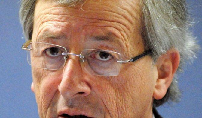 Juncker: Krise kann auch Belgien und Italien treffen (Foto)