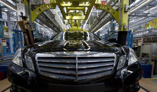 Juni koennte fuer Daimler zum Rekordmonat werden (Foto)