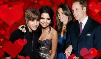 Justin Bieber, Selena Gomez, Prinz William, Kate (Foto)
