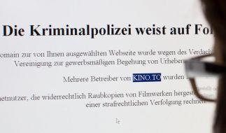 Justiz erwartet lange Ermittlungsdauer bei Kino.to (Foto)