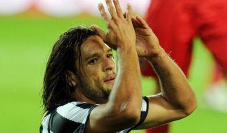 Juventus-Pechvogel Amauri fällt bis Januar aus (Foto)