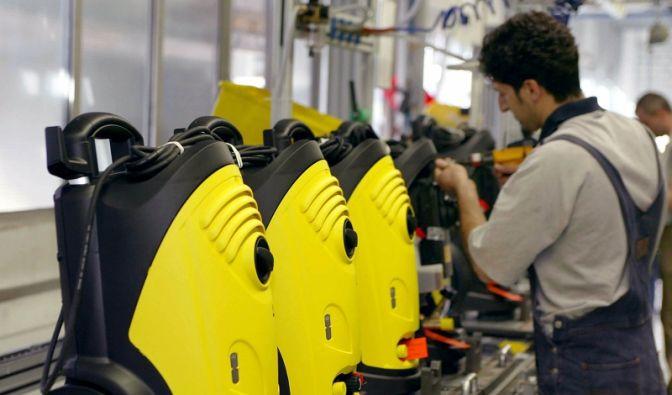Kärcher - Reinigungsgerätehersteller (Foto)