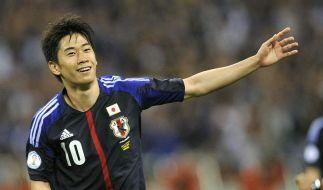 Kagawa überzeugt beim Debüt auch Ferguson (Foto)