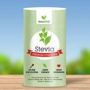 Kalorienarm, zahnfreundlich und leicht dosierbar - NaturSüß Stevia Streusüße ist die perfekte Alternative zu Zucker und Süßstoffen.