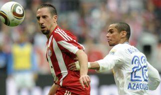 Kampf um Ribéry (Foto)