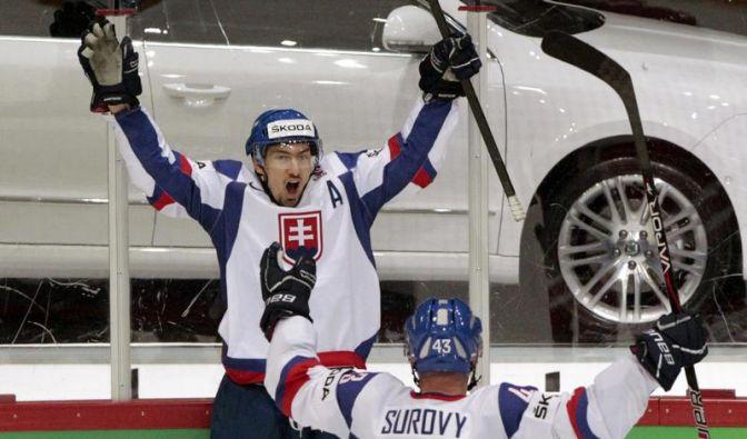 Kanada im WM-Viertelfinale an Slowakei gescheitert (Foto)