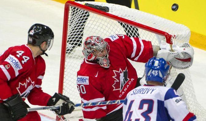 Kanadas Talente zum Auftakt bei WM mit Zittersieg (Foto)