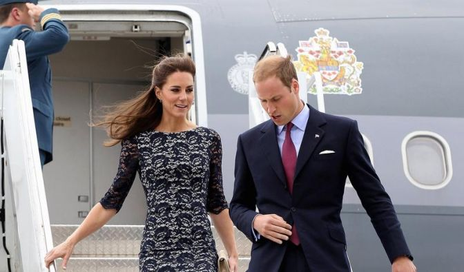 Kanadier feiern William und Kate (Foto)