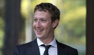 Kann Facebook-Gründer Mark Zuckerberg auch Politik? (Foto)