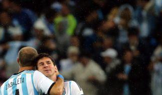 Kann er die Last aushalten, die auf seinen Schultern ruht? Lionel Messi (Foto)