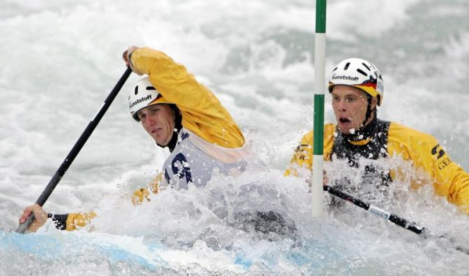 Kanu-Slalom: Canadier-Duo Becker/Henze tritt zurück (Foto)