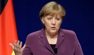 Kanzlerin gegen Ausweitung des Euro-Rettungsschirms (Foto)