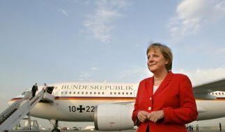 Kanzlerin im Flugchaos (Foto)