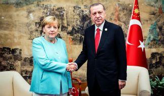 Kanzlerin Merkel trifft sich am Donnerstag (02.02.2017) mit dem türkischen Präsidenten Erdogan. (Foto)