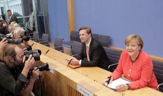 Kanzlerin Merkel für stärkere EU (Foto)