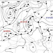 Karin und Jenny drücken seit dem 20. September den Luftdruck und damit das Wetter.