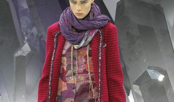 Karl Lagerfeld lässt es bei Chanel funkeln. (Foto)