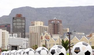 Karneval am Kap: WM-Fieber hat Kapstadt im Griff (Foto)