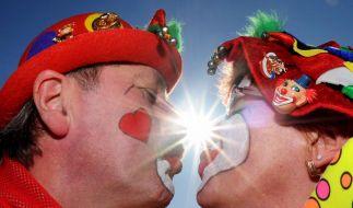 Karneval im Büro: Bloß nicht zu bunt treiben (Foto)