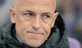 Karsten Baumann ist nicht mehr Trainer von Hansa Rostock. Zusammen mit Sportdirektor Uwe Klein wurde er nach der Niederlage gegen den Halleschen FC entlassen. (Foto)