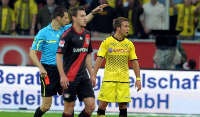 Karten-Spiel in Leverkusen - BVB schützt Rot-Götze (Foto)