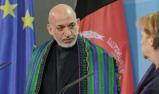 Karzai: Der Westen hat es begriffen (Foto)