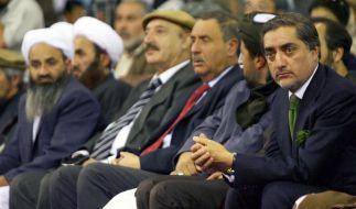 Karzai nach Abdullah-Rückzug einziger Kandidat (Foto)