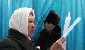 Kasachstan: Nasarbajew-Partei siegt mit 80 Prozent (Foto)