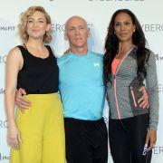 "Kate Hudson, David Kirsch und Barbara Becker bieten bei ""Cyberobics"" individuelle Trainingsprogramme. (Foto)"