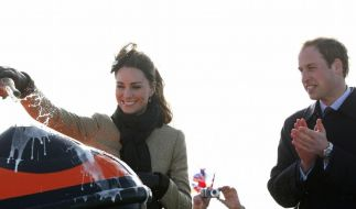 Kate legt los: Williams Braut bei erstem Auftritt (Foto)