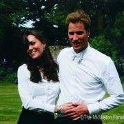 Kate Middleton und Prinz William am Tag ihrer Abschlussfeier 2005 im schottischen St. Andrews.