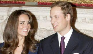Kate und William bei erstem offiziellen Auftritt (Foto)