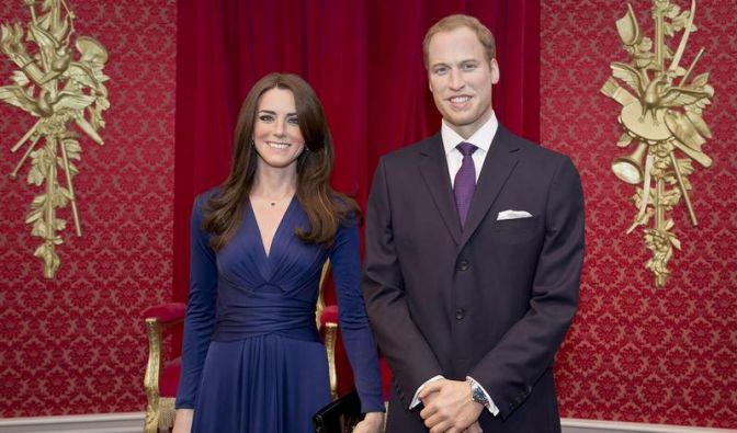 Kate und William ziehen auch in Wachs die Massen an (Foto)