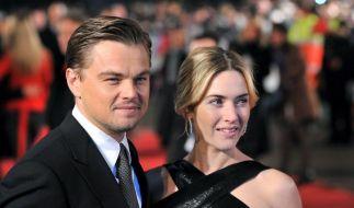 Kate Winslet und Leonardo Di Caprio waren das «Titanic»-Traumpaar. (Foto)